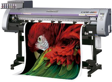 Impressão digital solvente